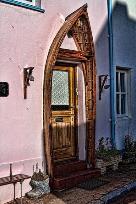 Small Wooden Garden Gate