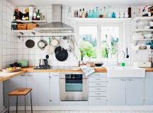 Top 22 Extraordinary Kitchens with Open Shelves