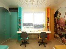 22 Colorful and Inspirational Kids Room Desks for Studying ...