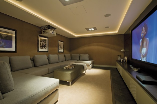 gaming lounge chair patio pad replacements 22 contemporary media room design ideas