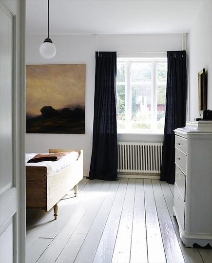 Design Black Curtains For Bedroom