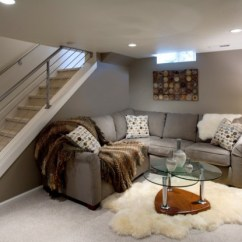Living Room Modern Designs Ottoman Coffee Table 24 Stunning Ideas For Designing A Contemporary Basement