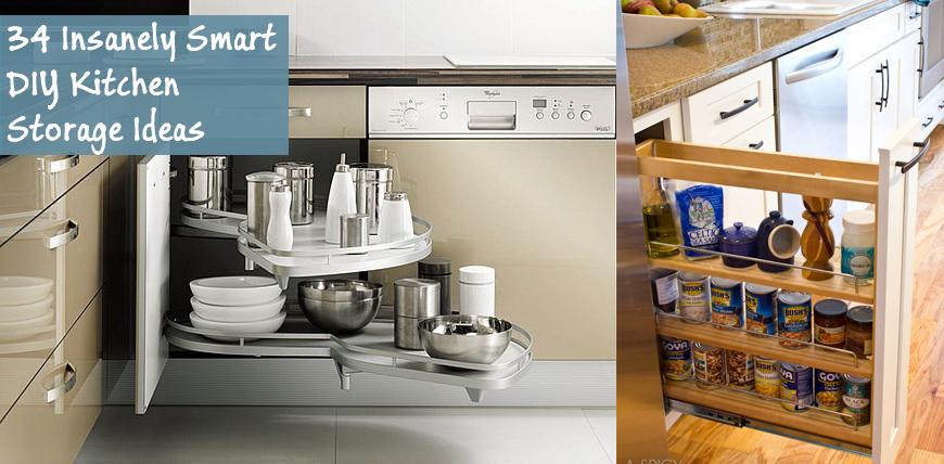 cheap kitchen storage small refrigerator 34 insanely smart diy ideas fb jpg