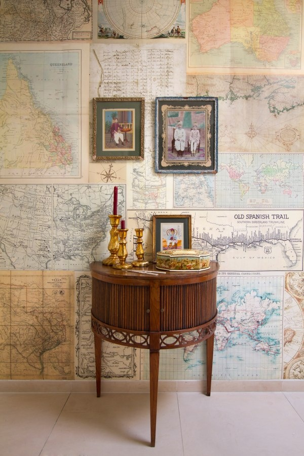 Cute Nautical Wallpaper 30 Creative Diy Maps Decorations
