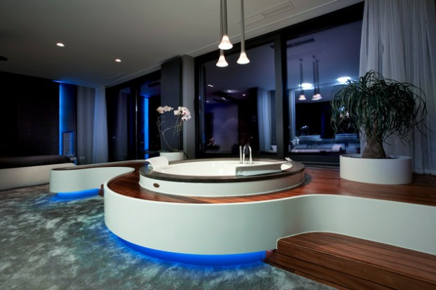 25 Ultra Modern Spa Bathroom Designs For Your Everyday