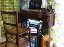 20 Vintage Repurposed Sewing Machines