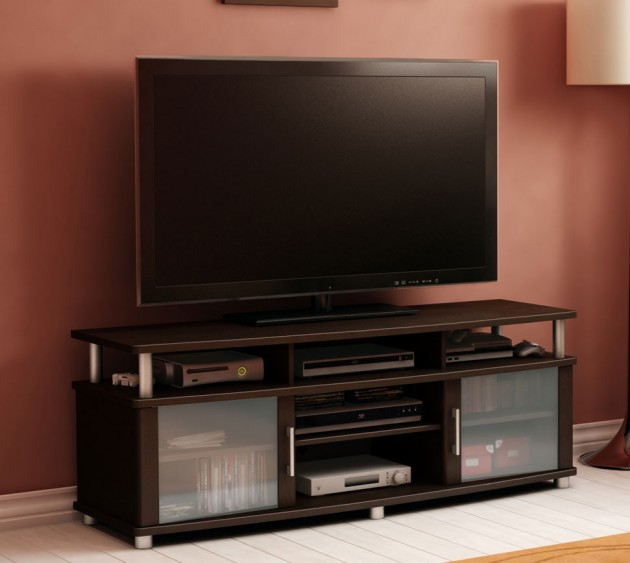 design ideas for small living room with corner fireplace blue and beige 20 cool tv stand designs your home