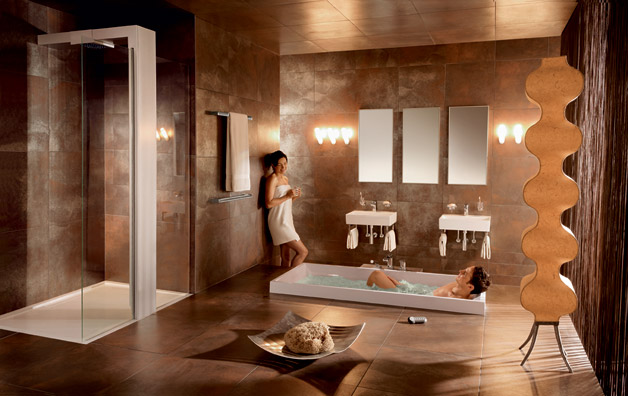 25 Ultra Modern Spa Bathroom Designs for Your Everyday