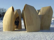 Amazing Winter Project - Winnipeg Skating Shelters by ...