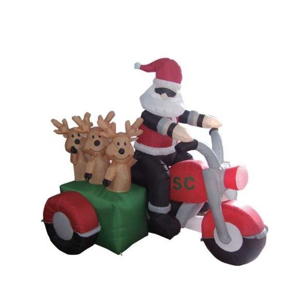 funny inflatable christmas decorations