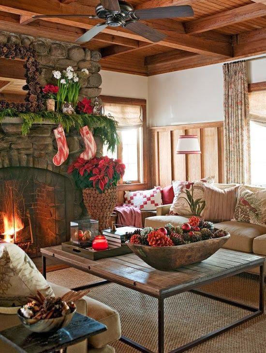 Beautiful Fall Scenes Wallpaper 33 Cute Log Cabin Christmas Decorations