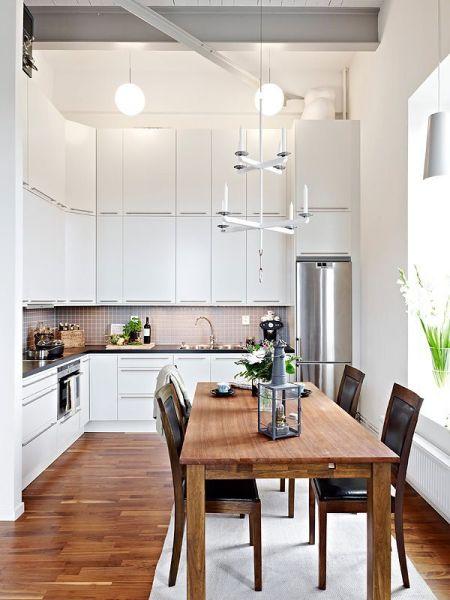 scandinavian interior design kitchen white 30 Inspiring White Scandinavian Kitchen Designs