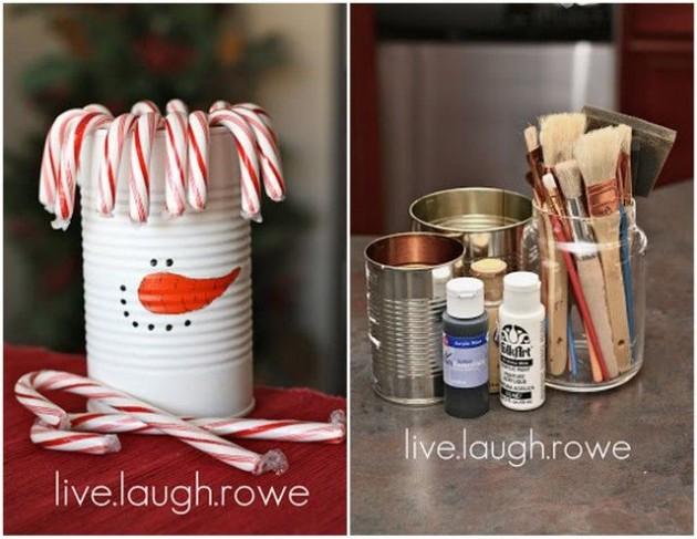 30 Creative and Fun DIY Snowman Decorations
