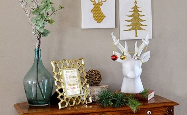 30 Amazing Diy Christmas Wall Art Ideas