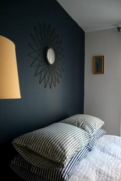 indigo navy blue bedroom 20 Marvelous Navy Blue Bedroom Ideas