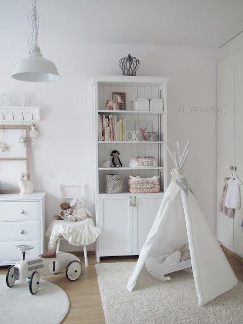 25 Amazing White Kids Room