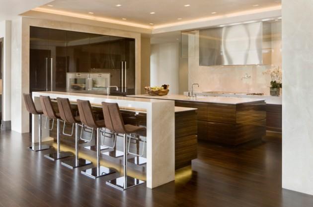 kitchen bar designs cabinets pittsburgh 30 elegant contemporary breakfast design ideas