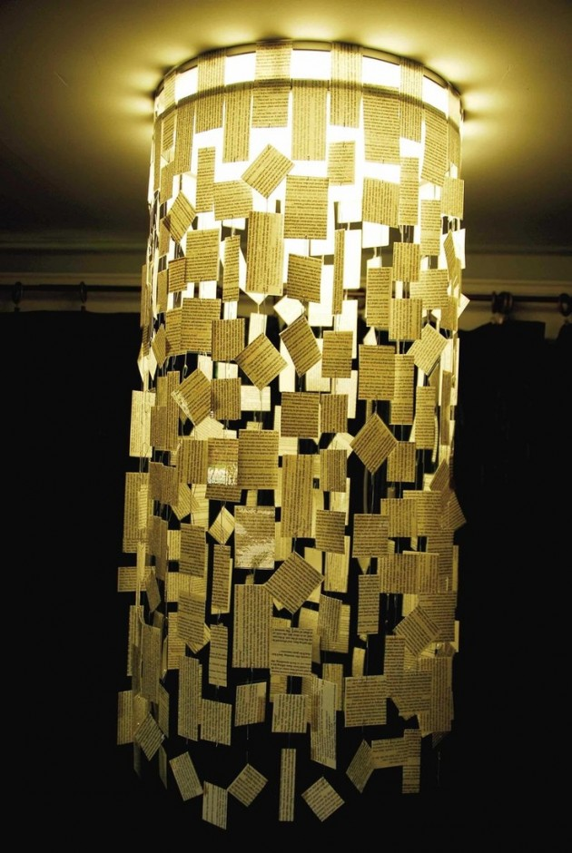 25 Creative Diy Chandeliers Made Out Of Paper