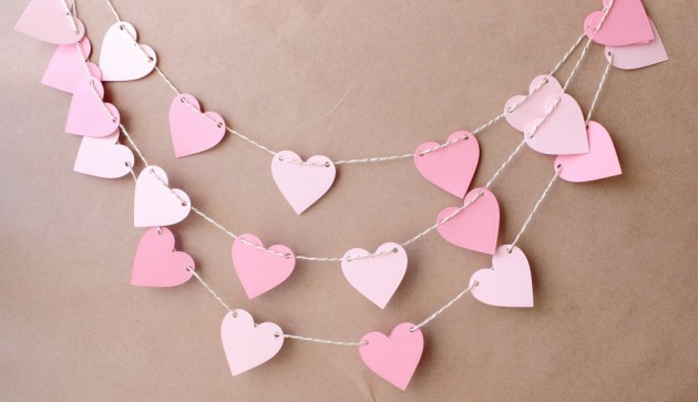 Image result for valentine garland