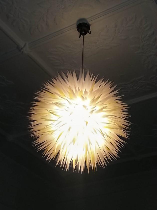 25 Artistic Handmade Paper Lampshades