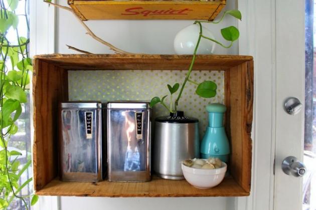 30 Splendid Ideas How to Reuse Vintage Crates