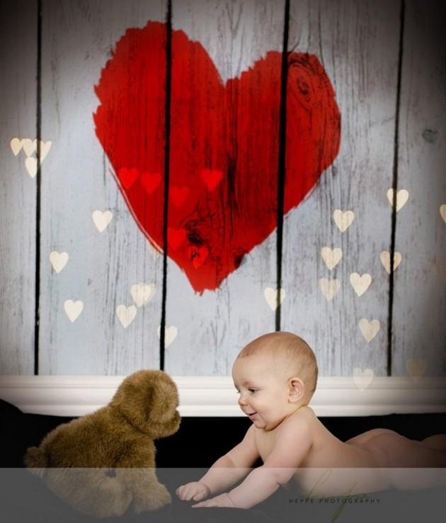 30 Cute Valentines Day Children Photos