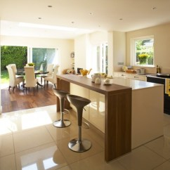 Kitchen Bars Design And Layout Ideas 30 Elegant Contemporary Breakfast Bar