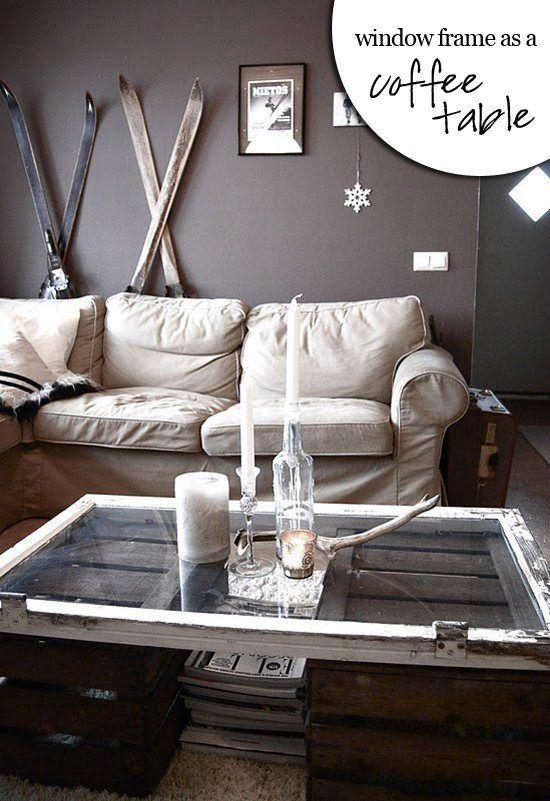 25 vintage diy coffee table ideas