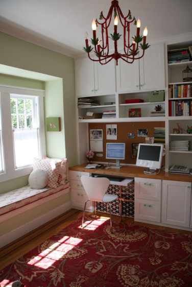 home office window bench 19 Cool Study Room Design Ideas For Teenagers