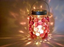 16 Charming Upcycled Outdoor Spring Lighting Ideas