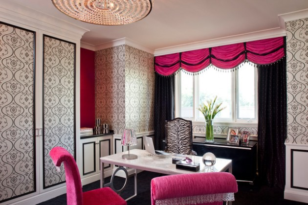 24 Fancy Amp Fabulous Feminine Office Design Ideas