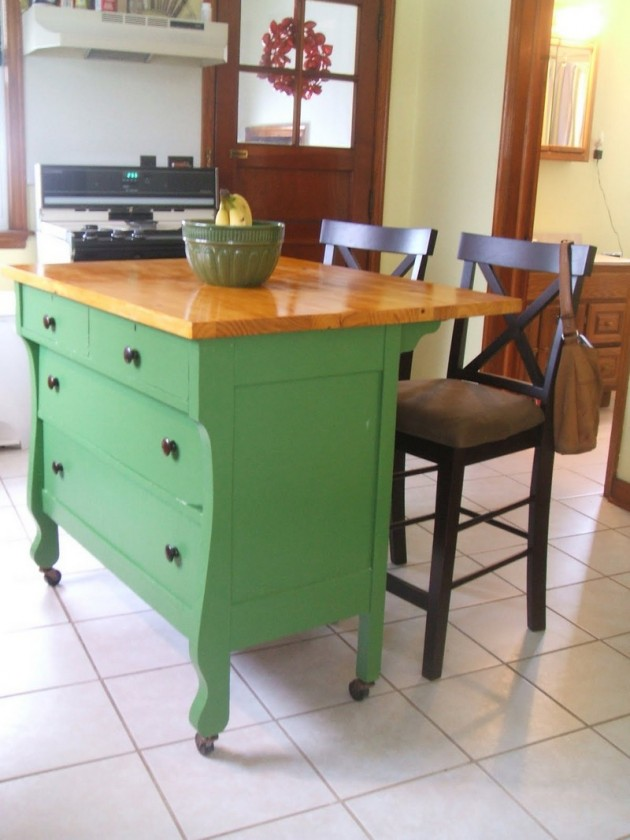 cheap kitchen island ideas aid artisan mixer 30 rustic diy