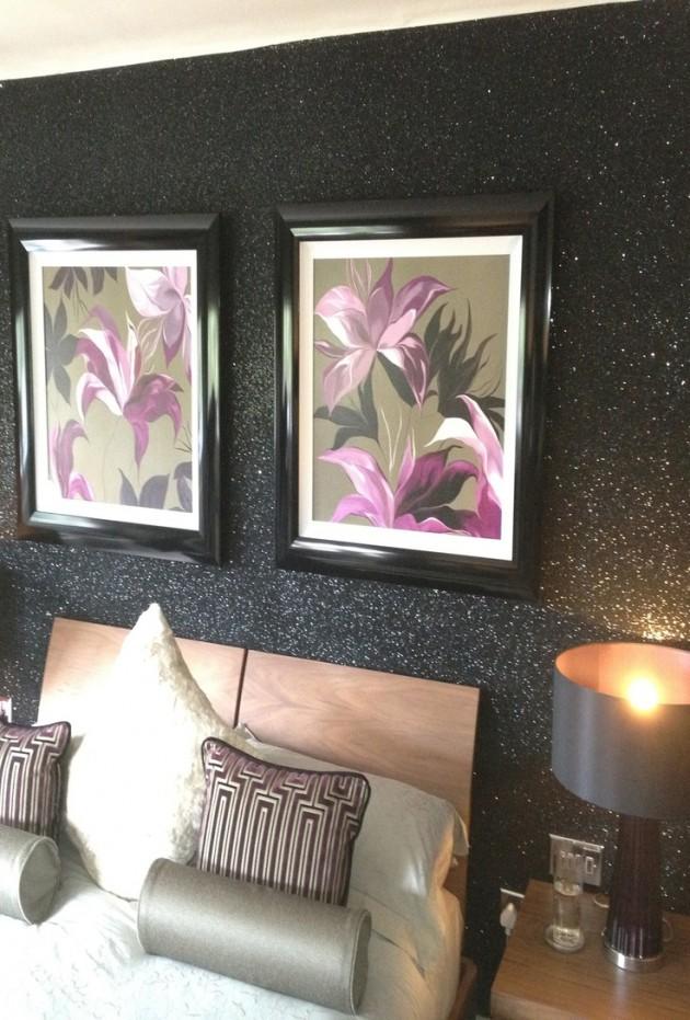 23 Glorious Sparkle Wall Ideas