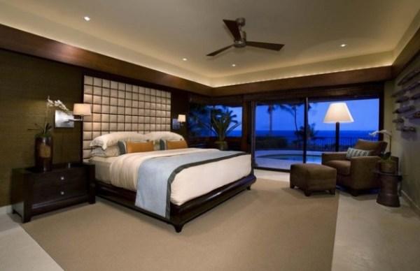 modern bedroom with ocean view 21 Outstanding Ocean View Master Bedroom Designs