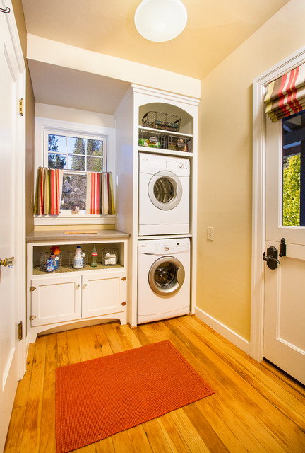 Efficient Use Of The Space 19 Small Laundry Room Design Ideas