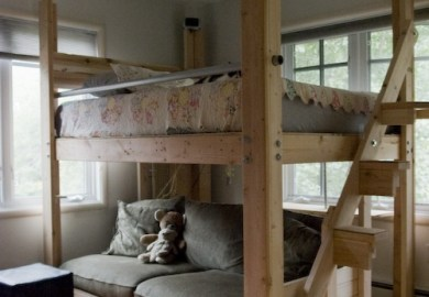 25 Cool And Fun Loft Beds For Kids Architecture Art Designs