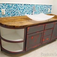 Inexpensive Backsplashes For Kitchens Handmade Kitchen Sinks 30 Unique And Diy Backsplash Ideas You Need To See Break Old Mason Jars Create A Jar Mosaic