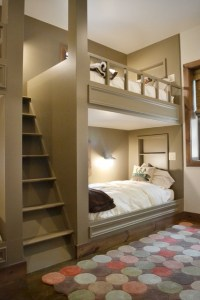 27 Fantastic Built In Bunk Bed Ideas for Kids Room from a ...