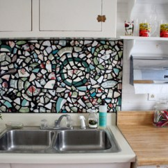 Mosaic Backsplash Kitchen Remodel Las Vegas 30 Unique And Inexpensive Diy Ideas You Need To See Reuse Your Broken Old Dishes By Arranging A From