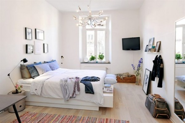 swedish interior design bedroom 18 Bright and Airy Scandinavian Bedroom Design Ideas
