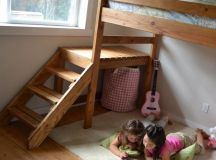 20 Beautiful Handmade Kids Bed Design Ideas to Make Your ...