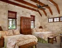 19 Elegant Stone Wall Bedroom Design Ideas