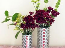 22 Super Cute DIY Decorative Vases That Can Be Done for ...