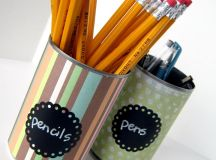16 Chic & Unique Handmade Pencil Holders