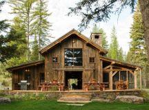 16 Most Elegant Wood Cabin Design Ideas
