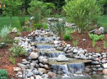14 Awesome Waterfalls Designs For Fantastic Backyard