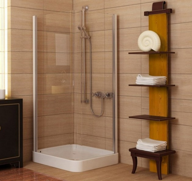 A Spacious Place Big Ideas For Tiny Bathrooms