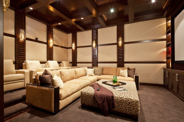 15 ProfessionallyMade Home Theater Designs
