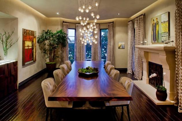 15 HighEnd Contemporary Dining Room Designs