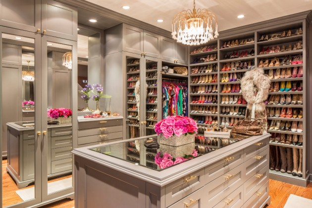 15 Elegant Luxury WalkIn Closet Ideas To Store Your Clothes In That Look Like Boutiques